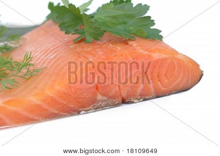 Appetizing Smoked Salmon