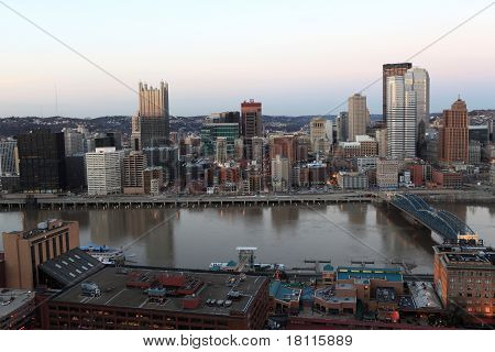 Landscape Of Pittsburgh