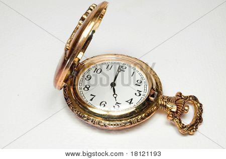 Gold pocketwatch
