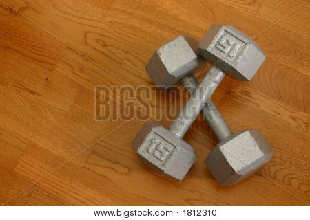 15 Pound Dumbells