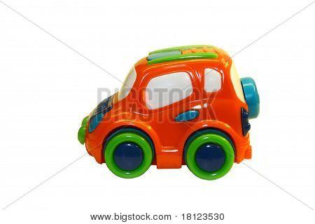 Orange Toy Car