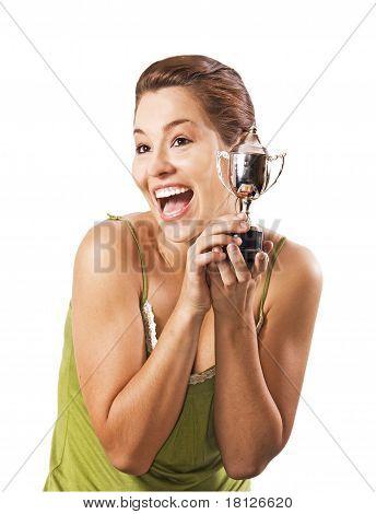 Teenage Girl Won The Cup