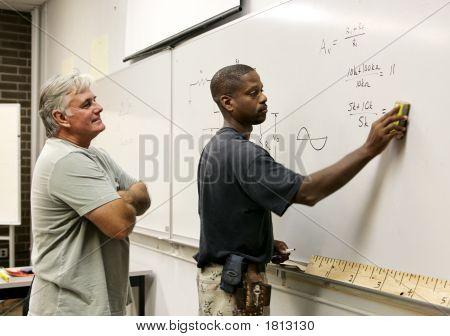Student Erasing Board