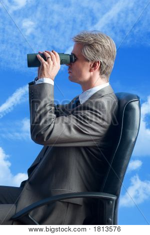 The Businessman, Field-Glasses, Future In The Sky