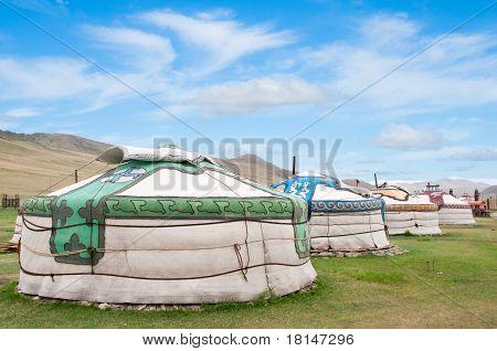 Mongolian Jurts Camp