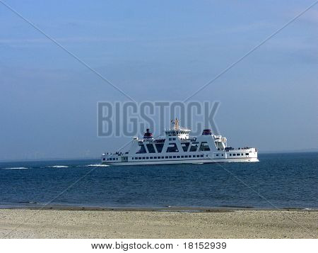 Ferries in the Wadden Sea