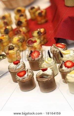 Delicious Desserts At The Buffet