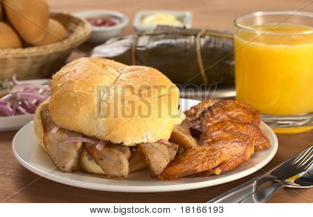 Peruvian Breakfast