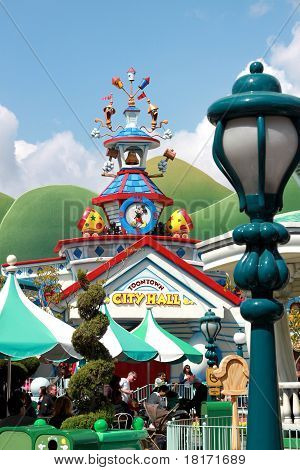 Toontown City Hall Disneyland