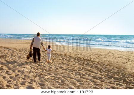 Strandwanderung