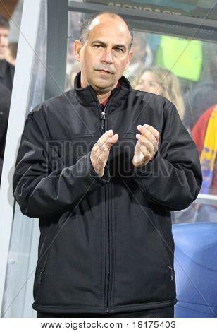 Canada soccer team manager Stephen Hart