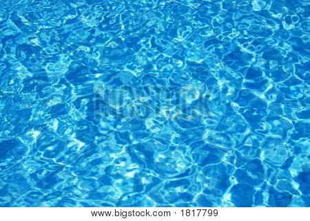 Sparking Pool Water