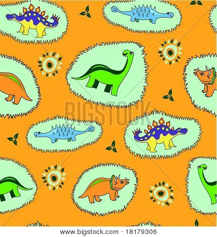 Dinosaur  background