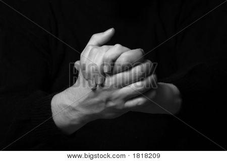 Man'S Hands