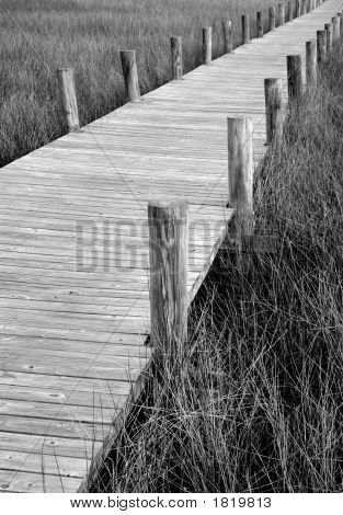 Boardwalk Diagonal