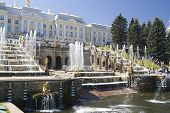 stock photo of samson  - Fountain in Petrodvorets  - JPG
