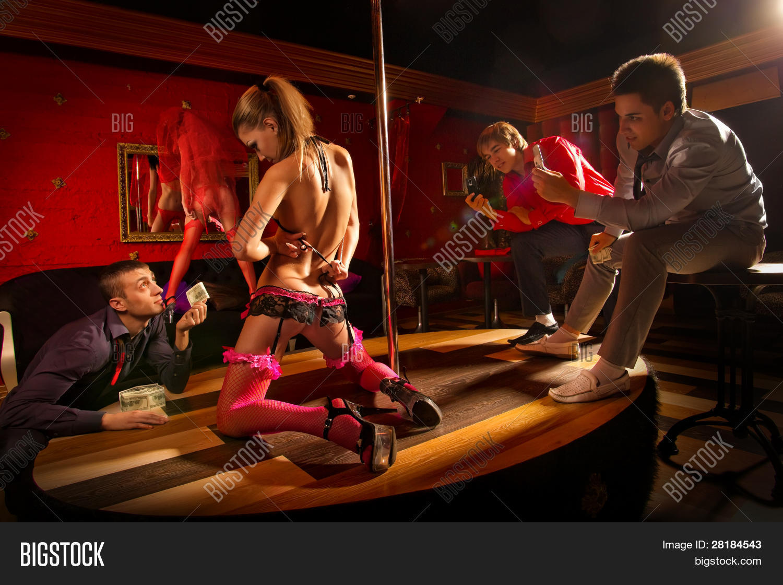 Stripper on camera