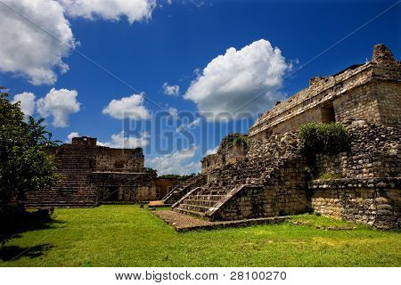 Ancient Maya city of Ek Balam, Yucatan, Mexico
