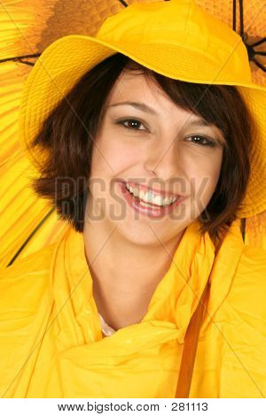 Smiling Its Raining