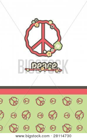 Peace, vector EPS10.