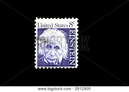 Einstein Postage Stamp