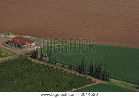 Rural Landscape -Aerial View