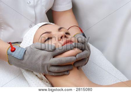 Beauty Salon Series. Facial Massage