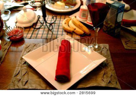 Modern Dinner Table