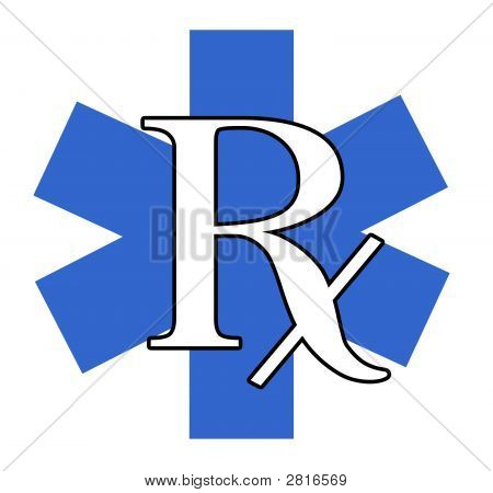 Blue And White Rx