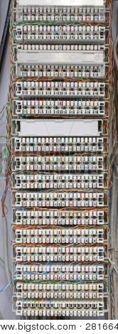 Telephone Cable Panel
