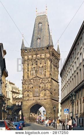 Powder Tower. Prague.