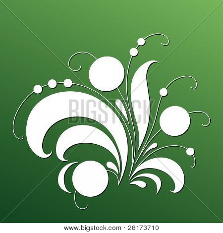 """Magic tree - floral elements.. Vector version of this image (""""*.eps"""") also available in my portfolio."""
