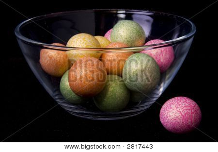 Candy In Bowl