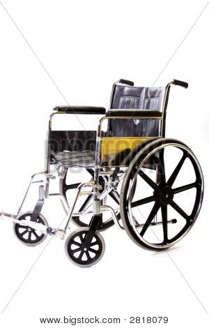 Isolated Wheelchair