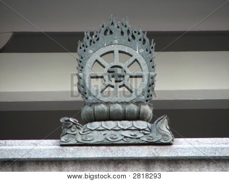Left Facing Buddhist Swastika