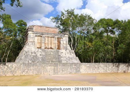 Chichen Itza mayan pok ta pok ball court Mexico Yucatan