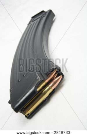 Ak Magazine With Bullets
