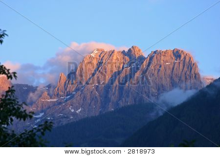 Mountain In The Austrian Alps