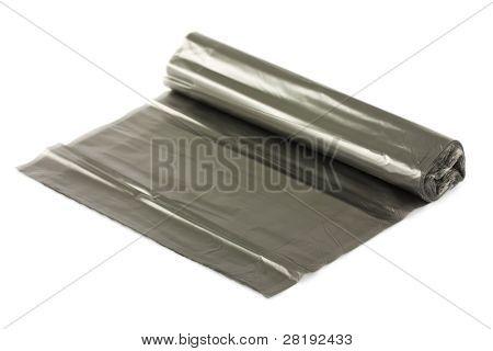 Black Plastic Garbage Bags
