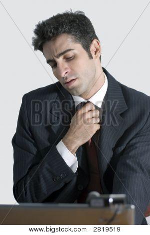 Loosening A Tie