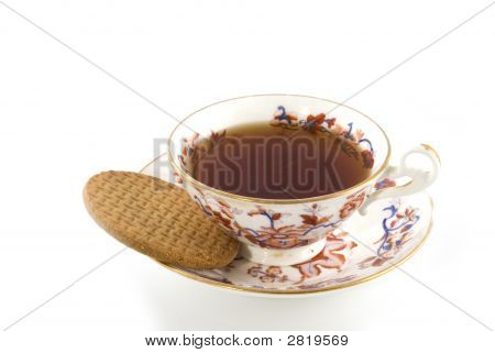 Old-Fashioned Cup Of Tea