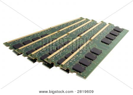 Five Planks Of Memory Modules