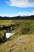 Start Of Waterfall Skogafoss