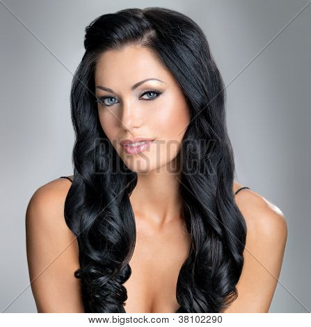 Woman With Beauty Long Hair