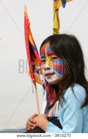 tibetischen Freiheit protest