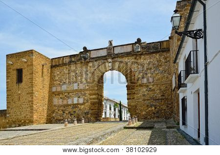 Arch Of The Giants In Antequera