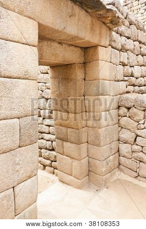 Machu Picchu:  A Double-Jamb Doorway