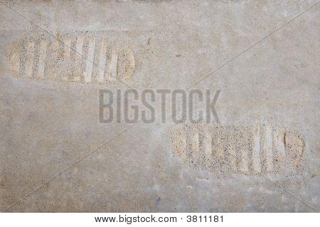 Replica Of Imprint Of Second