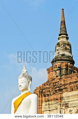 Ancient Buddha Statue, Thailand