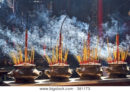 Burning Incenses
